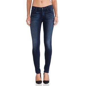 AGOLDE Colette Skinny Jeans Jeggings Second Skin